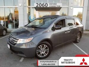2013 Honda Odyssey 4DR WGN EX-L W/RES  LEATHER-SUNROOF-BACK UP C