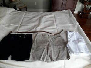 3 pairs of shorts and 1 belt size 16 (2)Gloria Vanderbuilt!