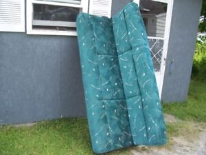 """Sofa/bed 75 """"x 41"""" out of a Jayco travel trailer"""