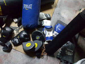Looking for Heavy Bags/Boxing Gloves/Skip Ropes/Hand wraps/Head