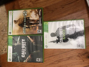 Set of Halo games for Xbox 360