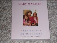 Book on CD - Letters to my Daughters