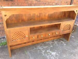 Country Made Handcrafted Solid Wood Hutch / Bookshelf Concord West Canada Bay Area Preview