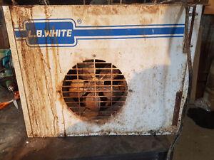 L.b.white propane heater for sale London Ontario image 1