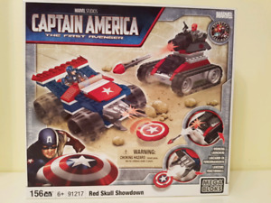 Capitain America. Brand new in the box. Lego