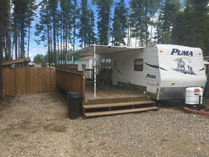 Puma Camper on leased lot at Candle Lake Golf Course