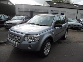 LAND ROVER FREELANDER 2 2.2 TURBO DIESEL HSE AUTOMATIC BLACK LEATHER SAT NAV