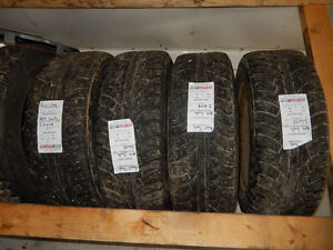Used winter tires and wheels for sale
