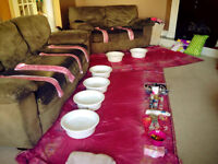 In Home Birthday Spa Party