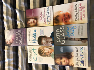 7 Cathy glass novels mint condition