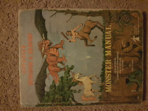 Advanced Dungeons & Dragons Monster Manual, 3rd Edition 1978