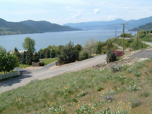 Just Reduced ! Breathtaking Okanagan Lake View Lot!  Vernon