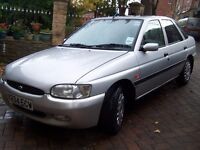 £295 Ford ESCORT Flight 5door - LOW Mileage 72k -reliable Hatchback- long Mot - a steal at £295