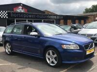 2009 Volvo V50 2.5 T5 R-Design Sport Geartronic 5dr Petrol blue Automatic