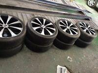 """17"""" alloy wheels"""
