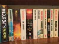 Wilbur Smith paperbacks