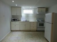 NEWLY RENOVATED 1 BEDROOM BASEMENT SUITE  FOR RENT NEAR RIVER