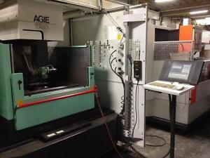 AGIE Wire EDM Machine