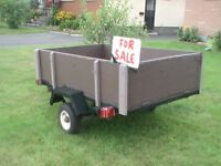 Heavy Duty Trailer 4 x 6