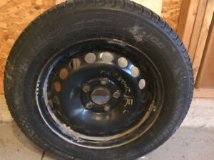 Winter Tires 195/65 R15 5-112 Rim