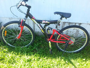 Mountain bike for sale...rode twice   great condition
