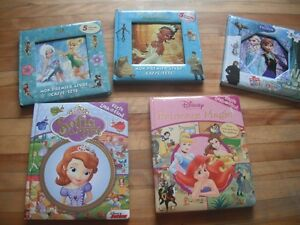 princess books and puzzles