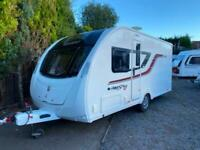 2017 Swift Freestyle S4 4 Berth caravan FIXED BED, Light to tow, VGC Bargain !