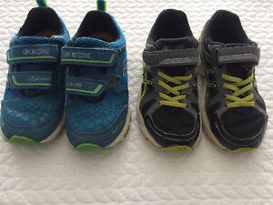 Running Shoes - Boys - Size 10.5 and 11 US