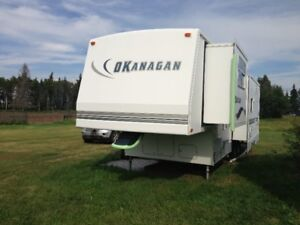 2001 Okanagan 5th wheel   32.5 feet