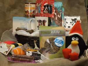 """""""Feet Up"""" Gift Basket – for a Quiet Evening by the Fire! $150"""