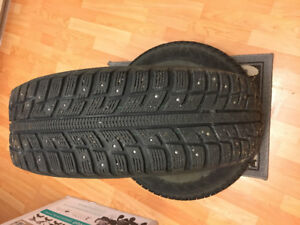 Studded Winter Tires w/ Steel Rims 195/65R15 - $390