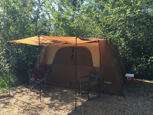 8 person easy up cabin tent