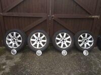 VW Alloy Wheels & Tyres