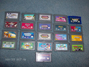 Assorted Game Boy Advance Games