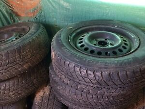 Winter tires for sale on rims  Cornwall Ontario image 1