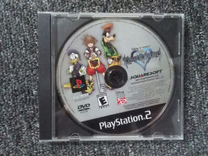 PS2 - Kingdom Hearts 1