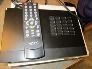 Apex DT250A Digital Converter Box with Analog Passthrough
