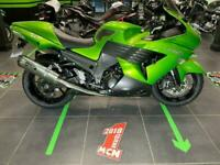 2009 Kawasaki ZZR1400 Motorcycle- Green