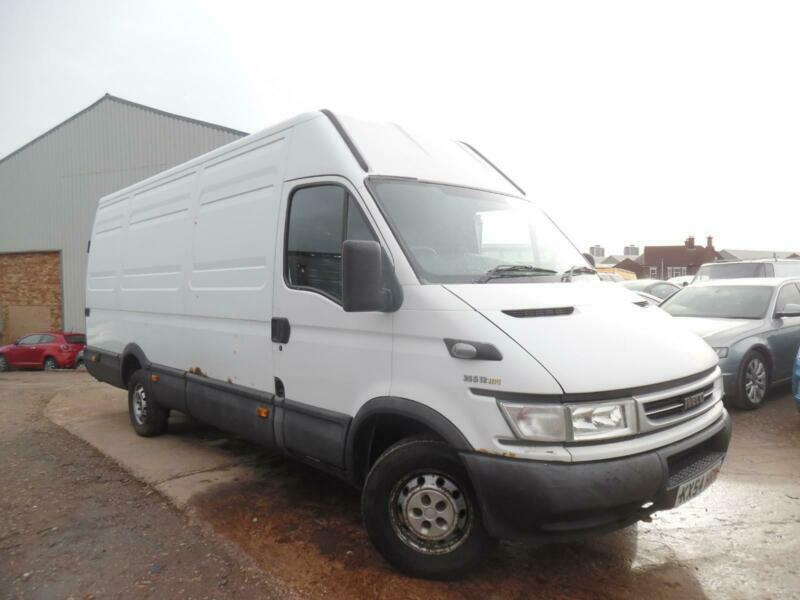 175b19f18a iveco daily 40c15 2.3 diesel long wheel base high roof 3.5 tonne
