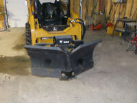 Skid Steer V-Blade for Bobcat