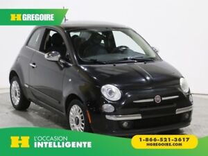2012 Fiat 500 Lounge AC GR ELECT MAGS BLUETOOTH