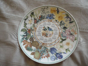2  Commemorative Wedgewood plates from U.K .  Perfect condition