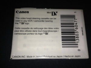 CANON HEAD CLEANING CASSETTE BRAND NEW !!! NEED GONE ASAP!!