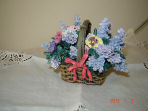 Retired Lena Liu from the Basket Bouquets Music Box Collection London Ontario image 1