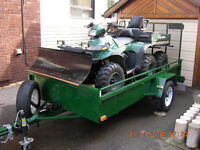 POLARIS SPORTSMAN 500 - 6x6 - WITH TRAILER **** MINT ****