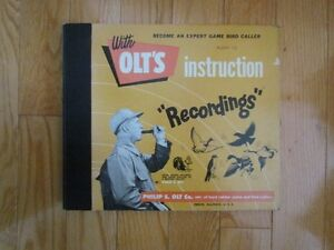 Olt's Instruction Recordings - Records