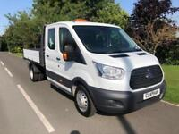 FORD TRANSIT 2.2TDCi ( 155PS ) RWD DRW DOUBLE CAB 1-WAY TIPPER 20 350 L3H1