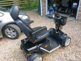Pride Colt Executive 8mph 30 stone capacity mobility scooter