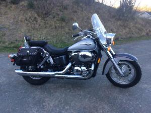 2003 honda 750 ace street bike