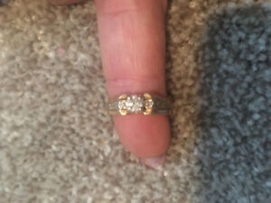 Diamond Wedding Engagement Ring with Band with Appraisal
